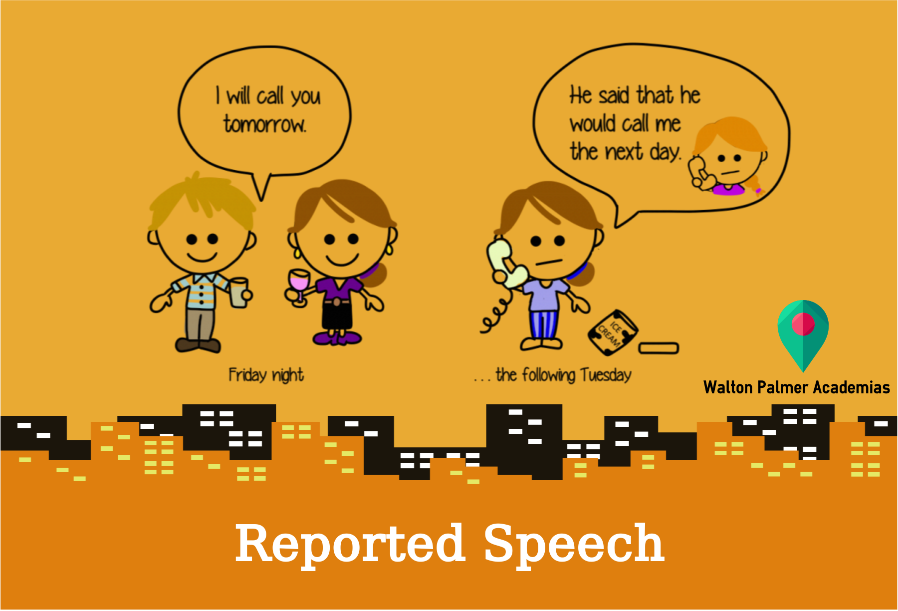Reported Speech Walton Palmer